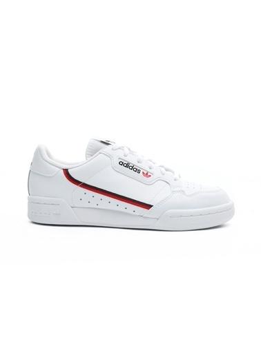 adidas Kadın Continental Spor Ayakkabı F99787.Beyaz Beyaz